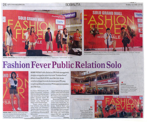Sosialita Fashion Fever ProSolo